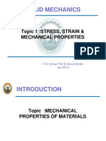 Solution Examples 1.3 -Mechanical Properties of Materials