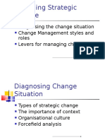 Managing Strategic Change
