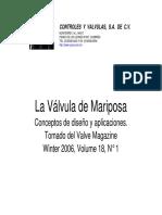Valvula de Mariposa
