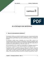 Parte I Capitulo El Enfoque de Sistemas- 2011