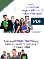 Sesión 01, La educación emprendedora en el medio universitario.pdf