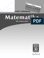 Kunci Jawaban Rpp Pr Mat 11 a Wajib 2014
