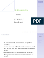 principi di econometria