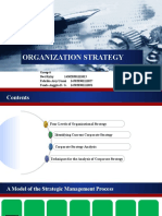 Organization Strategy by Group 6