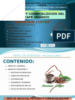 PROYECTO --Idea de Negocio - Mountain Coffee