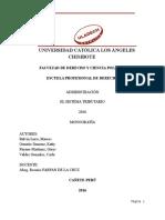 Derecho Financiero Sistema Financiero