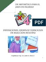 MANUAL DE ARITMÉTICA PARA EL EXAMEN DE INGRESO.pdf