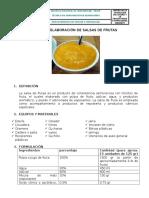 Guia de Elaboracion de Salsa de Frutas