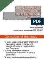 haematinics-market research