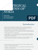 Strategical Analysis of Nokia