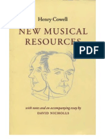 Cowell_New Musical Recourses