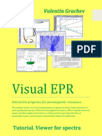 Visual EPR Tutorial View Spectra