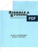 Oppenheim - Signal and Systems - Manual Solution