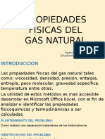 Propiedades Fisicas Del Gas Natural Pwr .Point