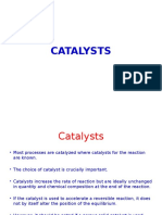 CPD Lecture on Catalysts