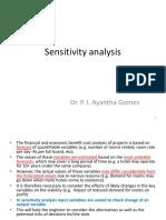 Presetation 3-Sensitivity Analysis