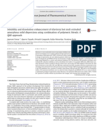 Solubility and Dissolution Enhancement of Efavirenz Hot Melt Extruded ASD Using Combination of Polymeric Blends QbD