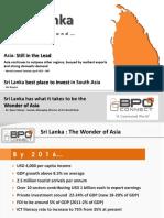 BPO Connect Investing in Sri Lanka 2014 2015
