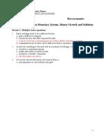 Macroeconomics Homework 5