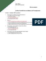 Macroeconomics Homework 10