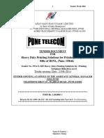Bsnl Tender Rate Details on p28