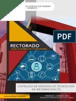 Catalogo Sistema Informacion Comunicacion