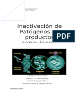 Inactivacion de Patogenos