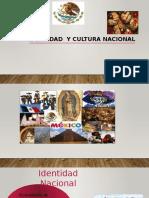 Identidad y Cultura Nacional Presentación