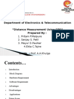 distance measurement system