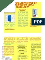 EQUIPO DE LABORATORIO DE MICROBIOLOGÍA ULTRA CONGELADOR.docx FOLLETO.docx
