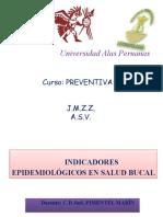 CPOD. INDICADORES DE SALUD BUCAL.