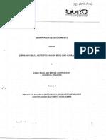 Guayasamin Memorandum Epmmop Crbc