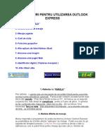 Alte Sfaturi Pentru Utilizarea Outlook Express
