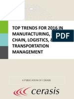 2016 Manufacturing SupplyChain Logistics TransportationManagement Trends
