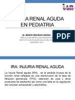 Injuria Renal Aguda en Pediatria-2015