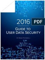 2016 Guide to User Data Security