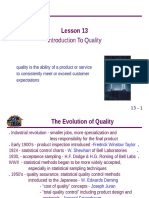 Quality Control an Introduction