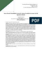 Socio-Racial Sensibilities towards coloured subaltern sectors in the Spanish Atlantic