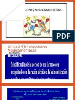 Unidad 4 Interacciones Medicamentosas