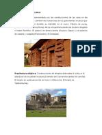 Tipos de Arquitectura Inca