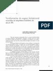 Carlos Lemos - Transformações Do Espaço Habitacional Ocorridas Na Arquitetura Brasileira Do Século XIX