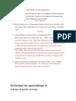 Actividad de Aprendizaje 4,6,7 y 8