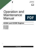 CAT Operation Manual 3306