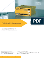 Flyer PNOZmulti Presses GB