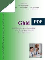 Ghid Clasa II - Activitati