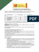 Empannelment of Attenders RO Visakhapatnam 01102016