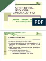 Tema 8 Derecho Laboral a Mejias