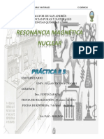 Lab 5 Resonancia Magnetica Nuclear