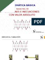 Ppt 03 Ecuaciones e Inecuaciones Valor Absoluto