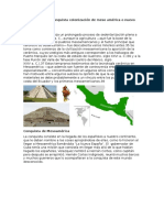 Descubrimiento Conquista Colonización de Meso América o Nuevo Mundo